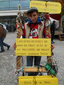 CCC Grand 8 Université Paris 8.  #ClownsCitoyens #ConférenceDesAdaptateurs