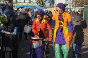 Les Clowns citoyens - Marché des Ruffins, Montreuil - 171118